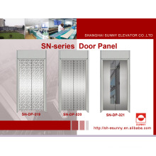 Elevator Door Panel with Etching Stainless Steel (SN-DP-319)